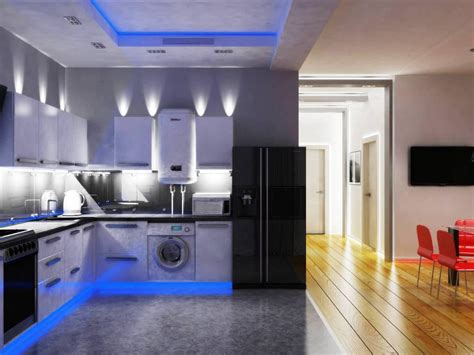 Get Large Amount Of Illumination With Led Kitchen Ceiling Led Ceiling Lights For Kitchens