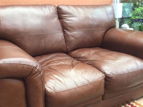 leather sofa fading customer results restoring a white leather sofa