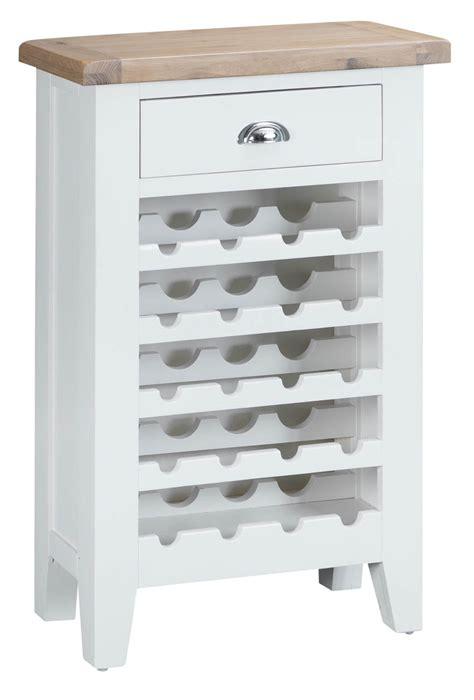 white wine rack cabinet woodbridge white wine cabinet oak world
