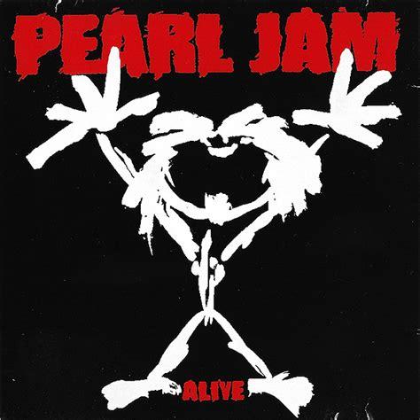 Kaos Pearl Jam Logo 1 pearl jam alive cd at discogs