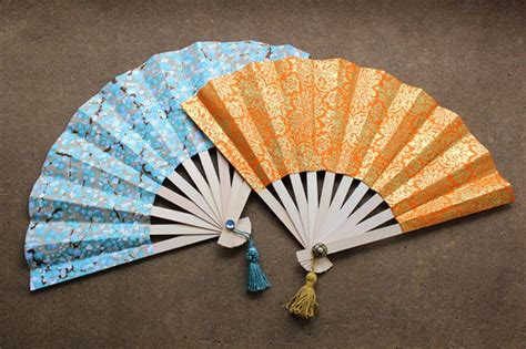 Japanese Craft Paper - how to make japanese fans diy paper crafts