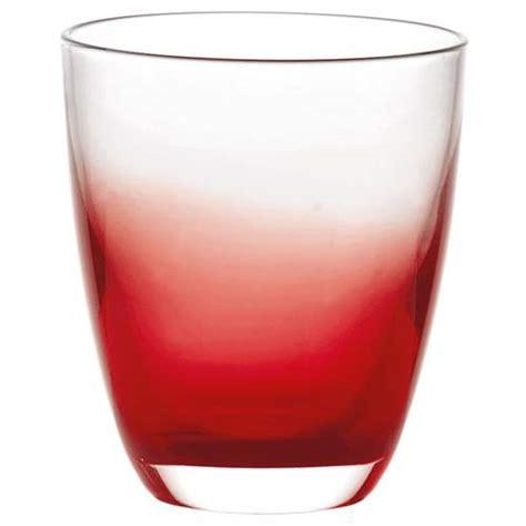 bicchieri rosso bicchiere acqua grace rosso guzzini