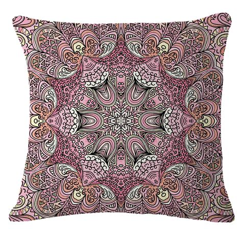 paisley home decor floral paisley home decor throw pillow case sofa waist