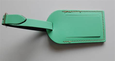 printable luggage tags uk new large leather luggage tag various colours fast free