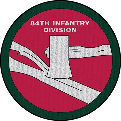 Infantry Rug by 84th Infantry Division Patch On Rug Us