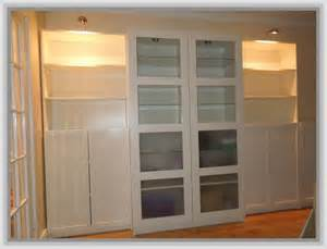 ikea billy bookcase with glass doors home