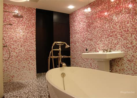 Bisazza pink   Céramiques Hugo Sanchez Inc