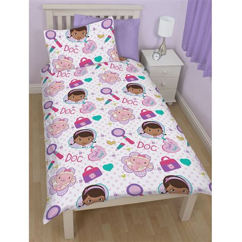 Doc Mcstuffins Crib Bedding by Doc Mcstuffins Bedroom Bedding Duvet Covers In Single And