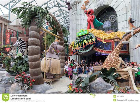 theme park universal studios universal studios singapore editorial stock photo image
