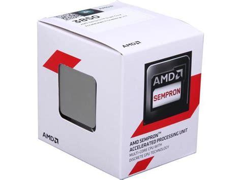 Amd Sempron 3850 Kabini amd sempron 3850 kabini 1 3 ghz socket am1 25w
