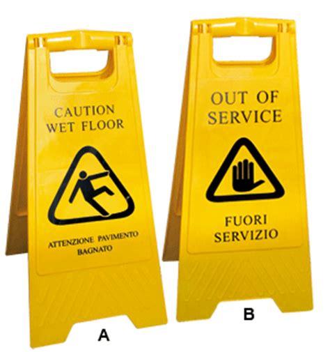 attenzione pavimento bagnato cartelli segnalatori scheda prodotto