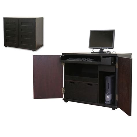 Compact Modern Desk Crate And Barrel Incognito Compact Office Look 4 Less