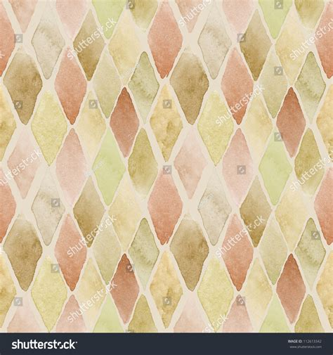 pattern warm color seamless watercolor pattern in warm colors stock photo