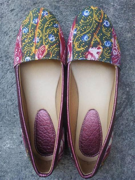 Flat Shoe Kulit jual flat shoes sepatu batik tulis sepatu kulit