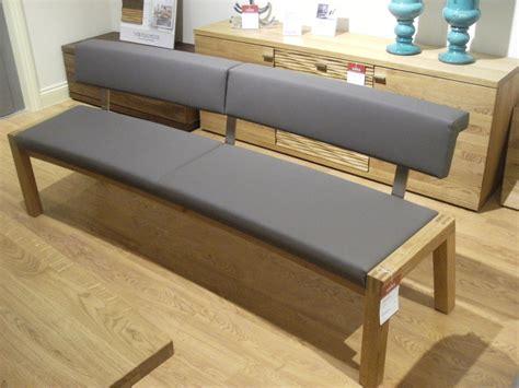 popular grey seat dining bench    oak dining