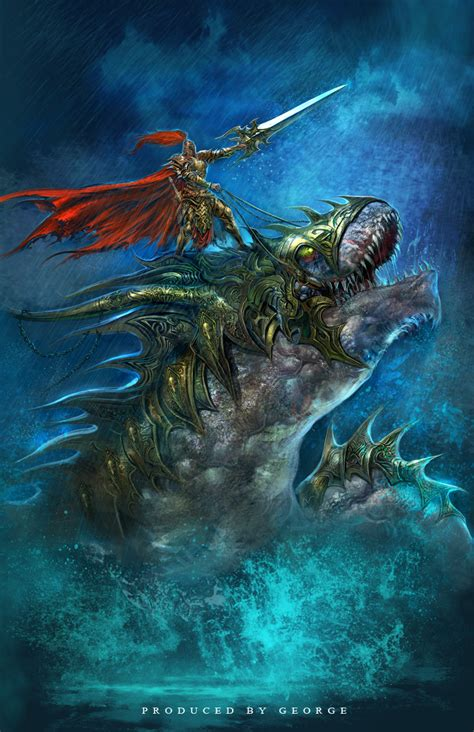 Sea Warrior of the sea god id 5338