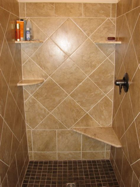 Ceramic Tiling A Shower by Installing Tile Shower And Floor Labra Design Build