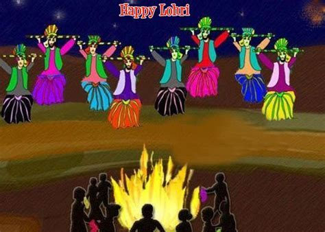 Happy Lohri Images And Wallpapers For Free Download