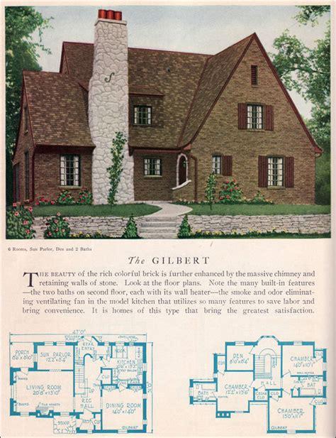 tudor cottage plans