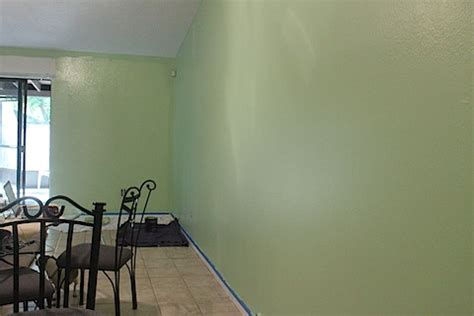 green painted walls project move mix the walls are green