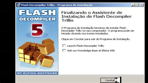 tutorial flash decompiler tutorial como baixar e instalar flash decompiler trillix