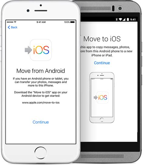 how to get pictures from android to iphone move from android to iphone or ipod touch apple support