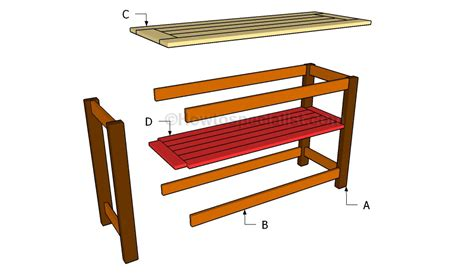 console table plans howtospecialist how to build step console table plans howtospecialist how to build step
