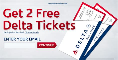 Delta Airlines Free Tickets Giveaway 2017 - free 2 delta airline tickets free stuff pinterest
