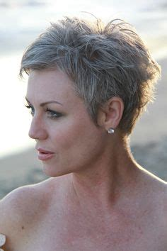 photos of very short grey hairstyles with mahogany highlights funky short hairstyles for the ones who are truly