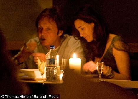 dinner on a boat for two near me smitten paul mccartney and nancy shevell enjoy dinner by