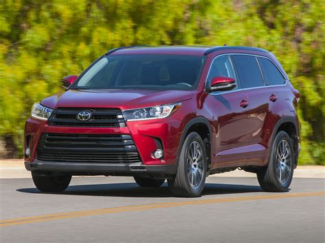 suv toyota 2017 toyota highlander price photos reviews features