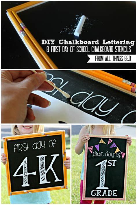 diy chalkboard font easy chalkboard lettering tutorial