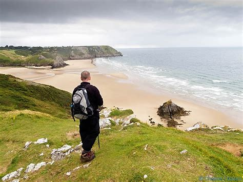 the magic of burrows bay a burrows bay books wales coast path pennard burrows to rhossili