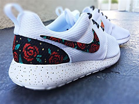 custom nike shoes for custom nike roshe run design floral custom roshe