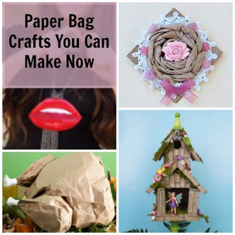 Crafts You Can Make With Paper - 12 paper bag crafts you can make now favecrafts
