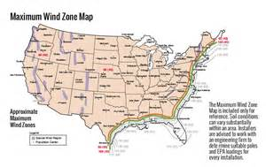 wind zone map led lighting pole assistance e conolight