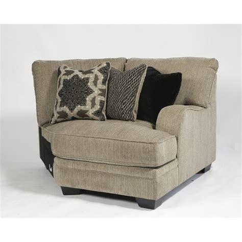 ashley katisha sectional ashley furniture katisha 5 piece fabric sectional in