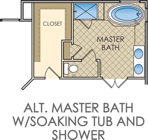 master bath layout small master bathroom floor plans kingsmill homeowner pinterest bathroom floor plans