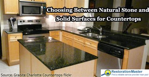 choosing between and solid surfaces for