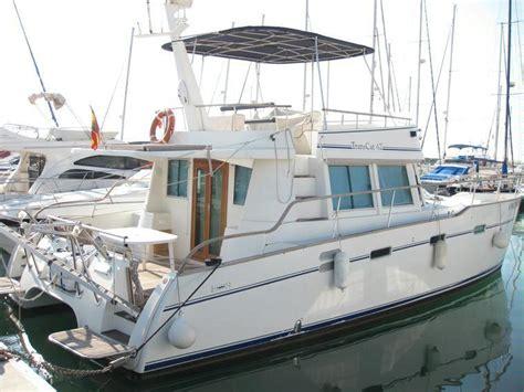catamaran for sale barcelona catamaran trans cat 42 in barcelona power catamarans
