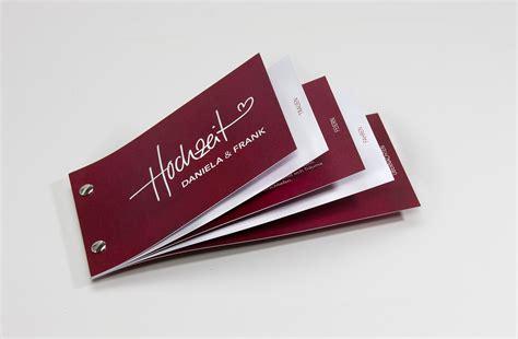 einladungskarten hochzeit booklet einladung als buchschraubenbooklet tipps tricks und