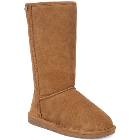 bearpaw cold weather boots in brown lyst