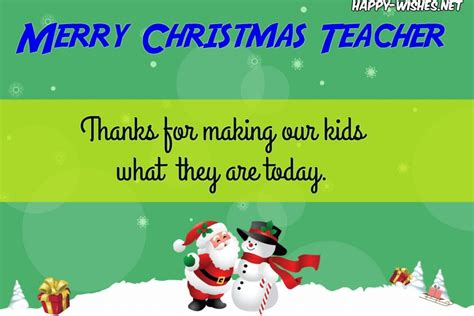 christmas wishes  teachers  students parent