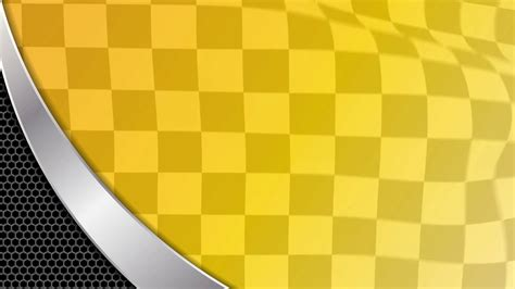 yellow racing sports background start and end motion