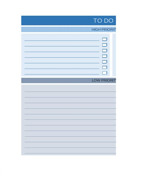 work list template excel work to do list template 6 free word excel pdf