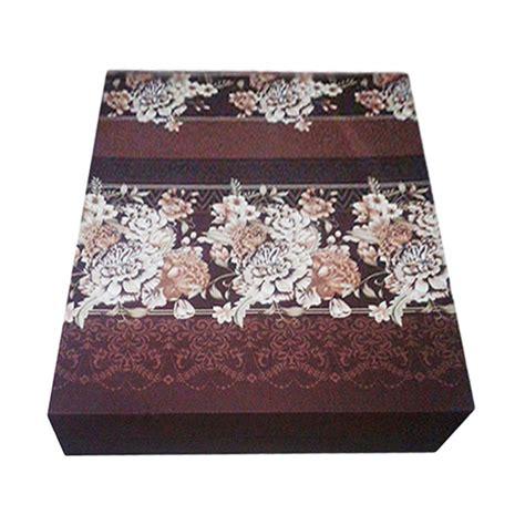 Kasur Busa Ukuran King jual anoria flower kasur busa brown king size 200 x 180 x 15 cm harga kualitas