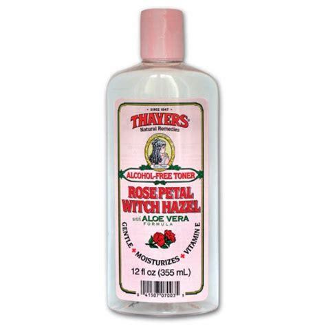 thayers alcohol free rose petal witch hazel with aloe vera 12 fluid ounce thayers free petal witch hazel toner 無酒精玫瑰花瓣金縷梅爽膚水