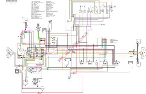 diagrama moto guzzi 1100i