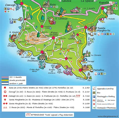 cing porto santa margherita trekking portofino cinque terre