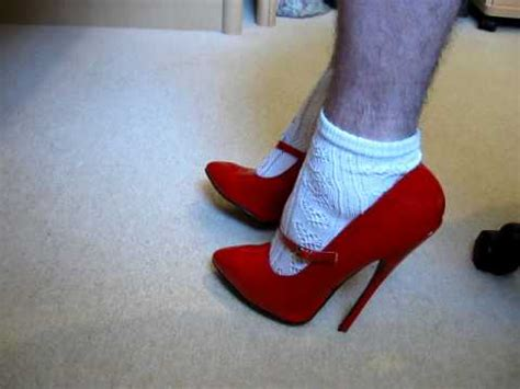 high heels socks high heels and white ankle socks